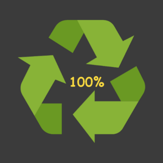 100% recyclé